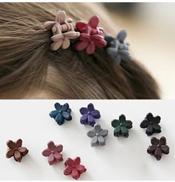 $enCountryForm.capitalKeyWord NZ - Korean children's jewelry cute small size frosted flower mini hairpin girl baby grip hairpin card