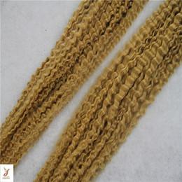 "$enCountryForm.capitalKeyWord UK - Bleach Blonde Color Brazilian Virgin Curly Hair Weave Bundles 100% Human Hair Extension 10-28"" Inchs Unprcessed Double Weft Hair Weaving"