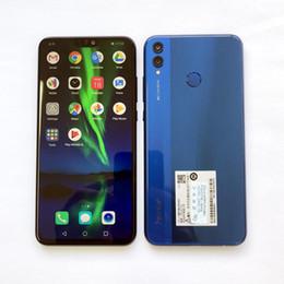Smartphone Arabic Australia - Huawei Honor 8X MobilePhone 6.5 inch Screen 3750mAh Battery Android 8.2 Dual Back 20MP Camera Multiple Language Smartphone