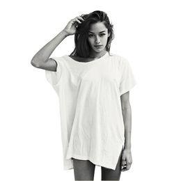 $enCountryForm.capitalKeyWord Australia - Oversized Baggy Long T Shirt Women Summer Harajuku Tumblr Grunge Punk Vegan Streetwear Vintage White Tops Plus Size Clothing J190427
