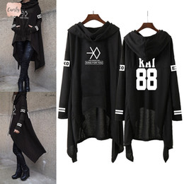 Yellow hoodies for girls online shopping - Kpop Exo New Fashion Exo Lay Se Kai Sing For You Exo Hoodies Long Skirt Harajuku Sweatshirts Women Girls Pullovers