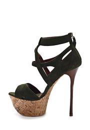 $enCountryForm.capitalKeyWord NZ - Summer Women Shoes Peep Toe Solid Black Pink Thin Super High Heels Casual Cut-Outs Zipper Platform Women Sandals Free Shipping