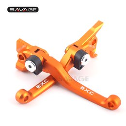 $enCountryForm.capitalKeyWord Australia - CNC Pivot Brake Clutch Levers For KTM EXC 250 300 350 400 450 500 505 525 EXC XC-W SX Motorcycle Accessories Dirt Bike Off-road