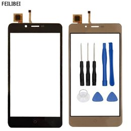 $enCountryForm.capitalKeyWord Australia - 5.0 Inch Mobile Touch Screen For Vertex Impress Lion 4G 3G Touch Screen Digitizer Front Glass Sensor Panel Replacement Tools