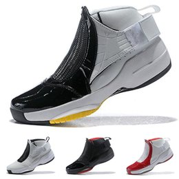red white basketball shoes for men Australia - 2019 New Jumpman 19 White Black Red Yellow Kids Basketball Shoes for Good quality 19s Men Classic Sports Sneakers