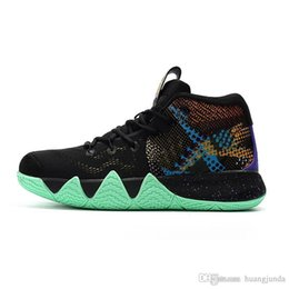 $enCountryForm.capitalKeyWord NZ - Mens Kyrie Irving 4s IV basketball shoes Mamba Mentality Lucky Charms Green Halloween Team Red Kyries sneakers Trainers with box for sale