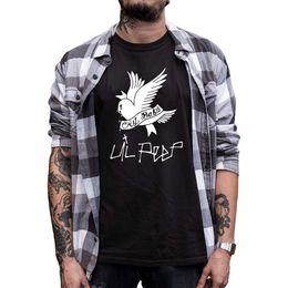 Skull T Shirt Baby Australia - Eu Size Rapper T Shirt Cry Baby Men T-shirt Rip Commemorate Hip Hop Streetwear Hell Boy Skull Male Tshirt