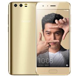 "Wholesale Original Huawei Honor 9 4G LTE Cell Phone 6GB RAM 128GB ROM Kirin 960 Octa Core Android 7.0 5.15"" 20.0MP Fingerprint ID NFC OTG Mobile Phone"