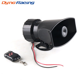remote police cars Australia - Dynoracing 12V 7 Tones Wireless Electronic Siren Loud Car Warning Alarm 130dB Police Fire Siren Horn Car ccessories