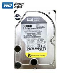 "WD black disk 500GB internal hard disk 3.5"" 7200RPM SATA3 Game mechanical HDD 6Gb s 500G HD hard disk for desktop computers on Sale"