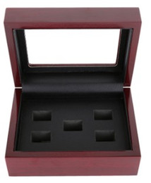 $enCountryForm.capitalKeyWord NZ - New arrival jewelry 2 3 4 5 6 7 Holes Wooden Box Championship Ring Display Case Wooden Boxs For Ring