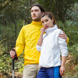 $enCountryForm.capitalKeyWord NZ - Sport jogging wear Quick Dry clothing hot Summer Sunlight protection Jackets Thin Hiking coat Waterproof Windproof Windbreaker