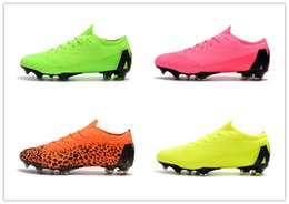 Pack Spikes Australia - 2019 mens soccer cleats Mercurial Superfly V Ronalro FG indoor soccer shoes cr7 boys neymar boots Rising Fast Pack cheap
