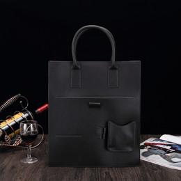 Vertical briefcase bag online shopping - New men s bag briefcase vertical style men s bag business one shoulder diagonal straddle bag