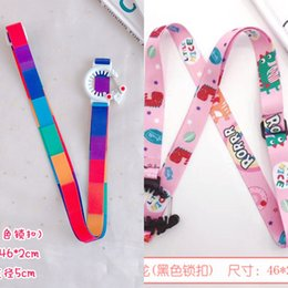 bottle lanyards UK - 3kNDL Cup lanyard buckle back belt slanting beverage bottle straps rope portable Sling mineral water mineral water bottle kettle straps rop
