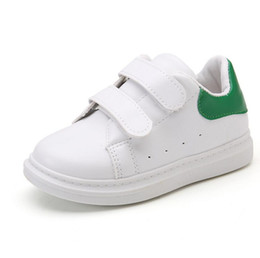 China 2018 New Spring Autumn Kids Boys White School Running Sport Shoes Girls Casual Toddler Designer Sneakers 1 3 4 5 6 8 10 Year 25 supplier boys shoes 3.5 suppliers