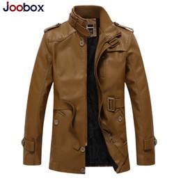 $enCountryForm.capitalKeyWord NZ - Men's Pu Leather Jaket Men Winter Motorcycle Leather Jacket Men's Clothing Long Biker Jacket Male Bomber Coat Plus Size