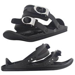 Mini Ski Skates Snow Shoes Mini Ski Skates for Snow The Short Skiboard Snowblades on Sale