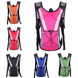 girl riding bicycle Australia - 6colors Hiking backpack Portable Outdoors Sports Bicycle Riding Hydration Packs Nylon Waterproof Water bag Both shoulder bag Wholesale JY755