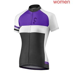 Bicycles Sale Australia - LIV Cycling Short Sleeves jersey women summer trend hot sale zipper Slim fit Mountain bicycle T-shirt customizable 60616