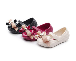 $enCountryForm.capitalKeyWord Australia - 2019 New Mini Melissa Big Bow 2019 New Original Girl Jelly Sandals Bow Kids Sandals Children Beach Shoes Non-slip Melissa Toddler Shoes