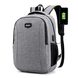 $enCountryForm.capitalKeyWord Australia - Large Usb Charging Bagpack College Teenagers Laptop Backpack For Women Men School Bag Female Male Travel Mochila Feminina