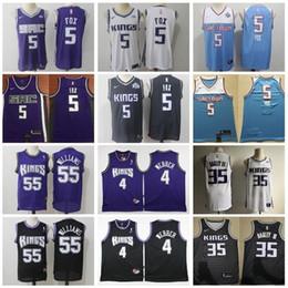 Jason williams Jerseys online shopping - Basketball De Aaron DeAaron Fox Jersey Edition City Marvin Bagley III Jason Williams Chris Webber Purple White Blue Vintage Mens