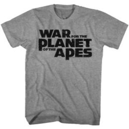$enCountryForm.capitalKeyWord UK - War for the Planet of The Apes Logo Men's T Shirt Vintage Movie