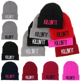 wholesale crochet hats for adults NZ - 7styles Designer K Letters Embroidery Beanies Hats Hip Hop cap For Adults Mens Womens Head Ear Warmer Acrylic knitted Snow hats DHL EJY698