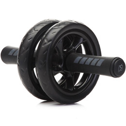 $enCountryForm.capitalKeyWord NZ - Exercise New Keep Fit Wheels No Noise Abdominal Wheel Ab Roller With Mat For Exercise Fitness Equipment