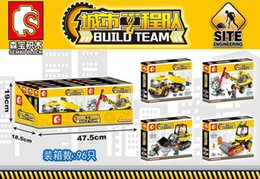 Enlighten Block Bricks Australia - City Engineering Team Machine Car Building Blocks Compatible Legoings Technic Enlighten Bricks Toys For Children Gifts