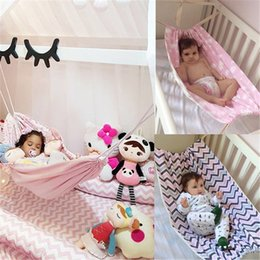 infant portable beds Australia - Portable Comfortable Bed Kit Pastoral Style Baby Blanket Cozy Warm New Baby Infant Hammock Home Outdoor Detachable Hanging Bed