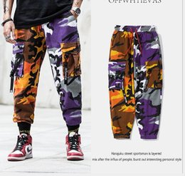 $enCountryForm.capitalKeyWord UK - 2019 new multi-pocket hip-hop pants pants men's casual trousers ins super fire tooling camouflage pants