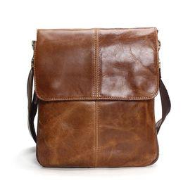 High Quality Leather Mens Business Bag Australia - good quality Genuine Leather Shoulder Bags Mens Leather Bag Brand Casual Business Mens Bag High Quality New Mens Travel Crossbody Bag