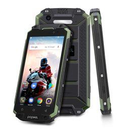 """Poptel P9000 MAX IP68 a prueba de polvo 9000mAh Smartphone 5.5"""" Android 7.0 MTK6750V Octa Core 4 GB + 64 GB 4G belleza de la cara cámaras duales del teléfono en venta"""