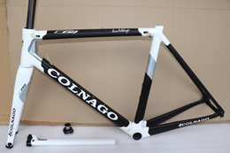 54cm road bike Australia - 2020 years Colnago C64 frame road bike Frame carbon bicycle Matte glossy carbon road frame 48cm 50mm 52cm 54cm 56cm can shipping CDB DPD