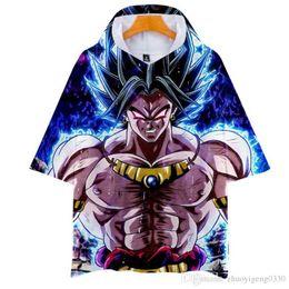 $enCountryForm.capitalKeyWord Australia - Dragon Ball Super Broly 3D Printed Hooded T-shirts Women Men Summer Short Sleeve Tshirts Hot Sale Casual Streetwear Tee Shirts