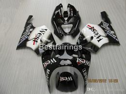 $enCountryForm.capitalKeyWord Australia - Aftermarket body parts fairing kit for Kawasaki Ninja ZX7R 96 97 98 99 00-03 black fairings kits ZX7R 1996-2003 TY49