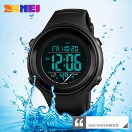 $enCountryForm.capitalKeyWord Australia - Skmei Military Sports Watches Luxury Led Luminous Digital Waterproof Mens Clock Outdoor Countdown Wristwatches Relogio Masculino MX190716
