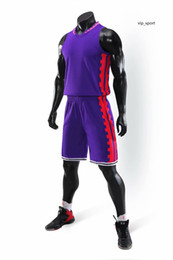 Wholesale 5xl basketball uniforms for sale - Group buy Online New Style Basketball Uniform Sets Sports Jersey For Men Cheap