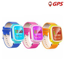 $enCountryForm.capitalKeyWord Australia - Smart children Watch Q80 GPS GSM GPRS Intelligente Locator Tracker Anti-Lost call Remote Monitor SIM card wristwatch For Kid DHL