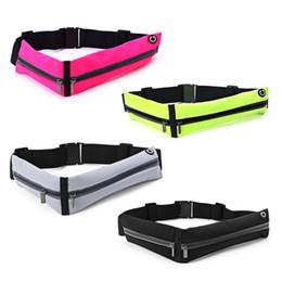 $enCountryForm.capitalKeyWord Australia - 1Pc Sport Double Zipper Pack Phone Pouch Waist Bum Bag Fitness Running Jogging Belt Waist Bag