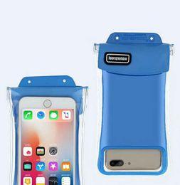 Универсальный для iphone 7 6 6s plus samsung S9 S7 водонепроницаемый чехол сумка сотовый телефон водонепроницаемый сухой мешок для смартфона до 5.8 дюймов диагональ