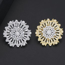 $enCountryForm.capitalKeyWord Australia - New Elegant Winter Suit Sweater Scarf Brooches Jewelry for Women Men Attend Wedding Engagement Exquisite Accessories