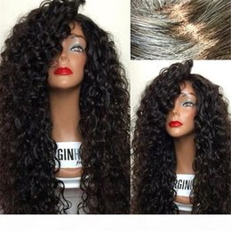 virgin wigs for sale Australia - 8A Cheap Human Hair Wigs For Black Women Brazilian Virgin Hair Wigs Deep Curly Wigs For Sale With Baby Hair