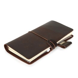 Diary Leather Australia - 2019 Diary Leather Notebook Notepad Stationery Nootbook Note Book Daily Paper Midori Traveler Bloc De Notas Journal Intime Boeke