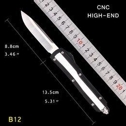 $enCountryForm.capitalKeyWord Australia - EDC single blade NEW MICRO-TECH UTX-85 Automatic Knife D2 blade MT auto knife tactical knife survival gear knives with nylon sheath