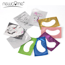 $enCountryForm.capitalKeyWord Australia - NEWCOME Paper Patches Eyelash under Eye Pads Lashes Eyelash Extension Paper Patches Eye Tips Stickers Wraps Makeup Tools