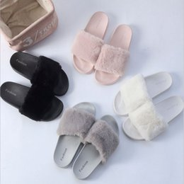 Wholesale Y269 women Slippers solid falt with Slippers more colour indoor winter colour