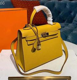 $enCountryForm.capitalKeyWord Australia - New Luxury Designer Leather Lock kelly Hand Bags Leather Women Handbags Ladies Shoulder Bags Original leather Classic Women Messenger qq13